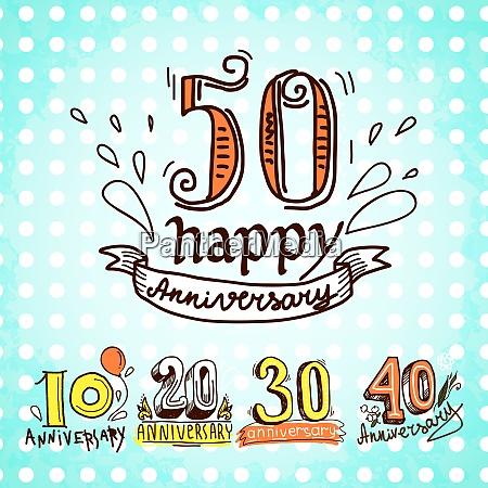 anniversary celebration ceremony congratulations sketch 10