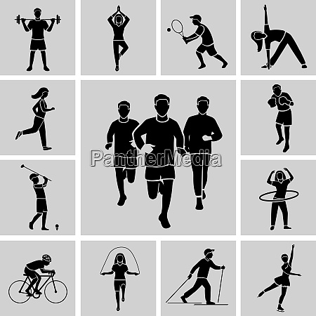 sport professional and leisure people activities