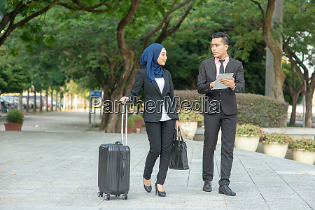 business on the go