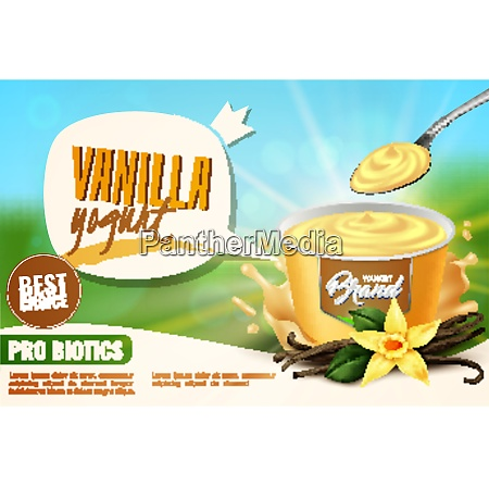 vanilla yogurt healthy naturally flavored dairy