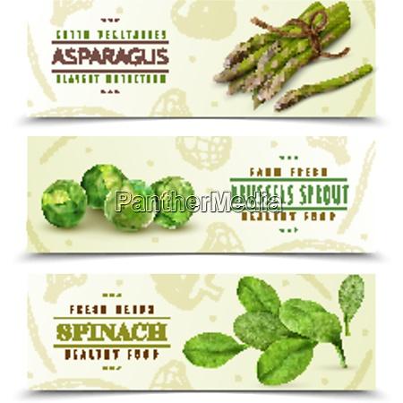farm fresh green leafy vegetables 3