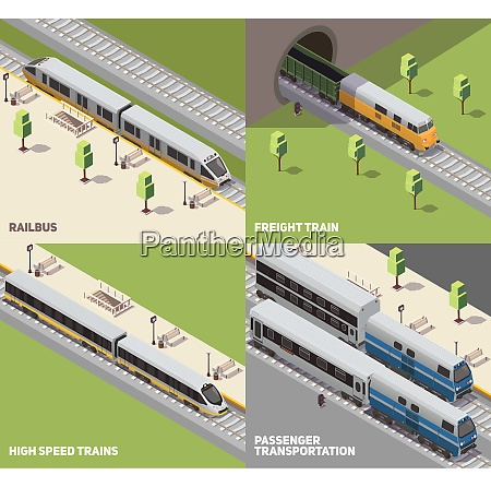 railbus freight cargo and high speed