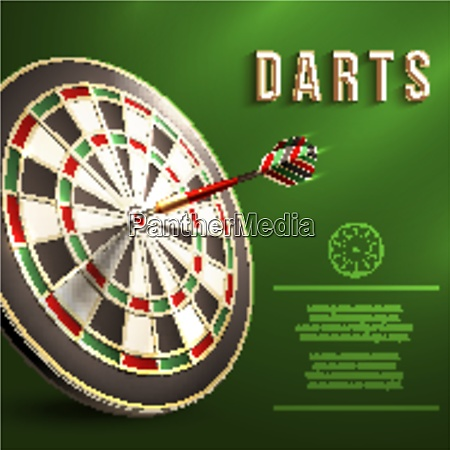 darts board goal target competition realistic
