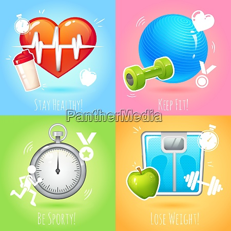 healthy lifestyle keep fit lose