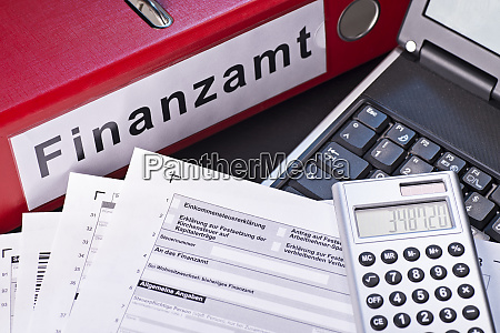 preparing the tax return