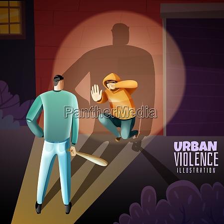 social crime urban youth violence warning