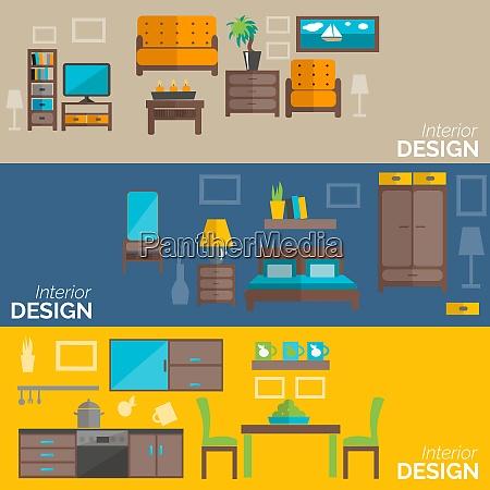 home interior design for kitchen bed