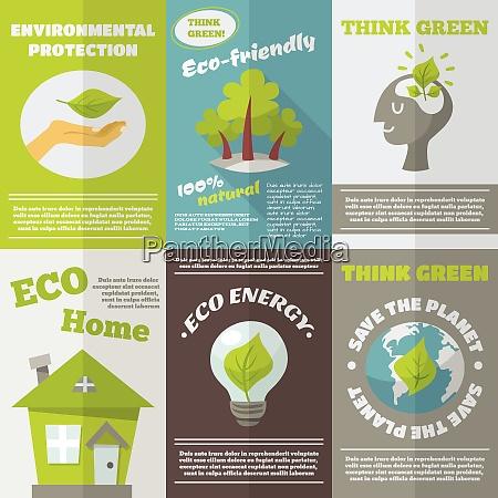 eco energy think green environmental protection