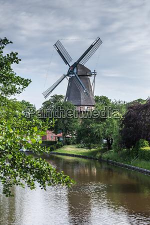 three story windmill in hinte lower