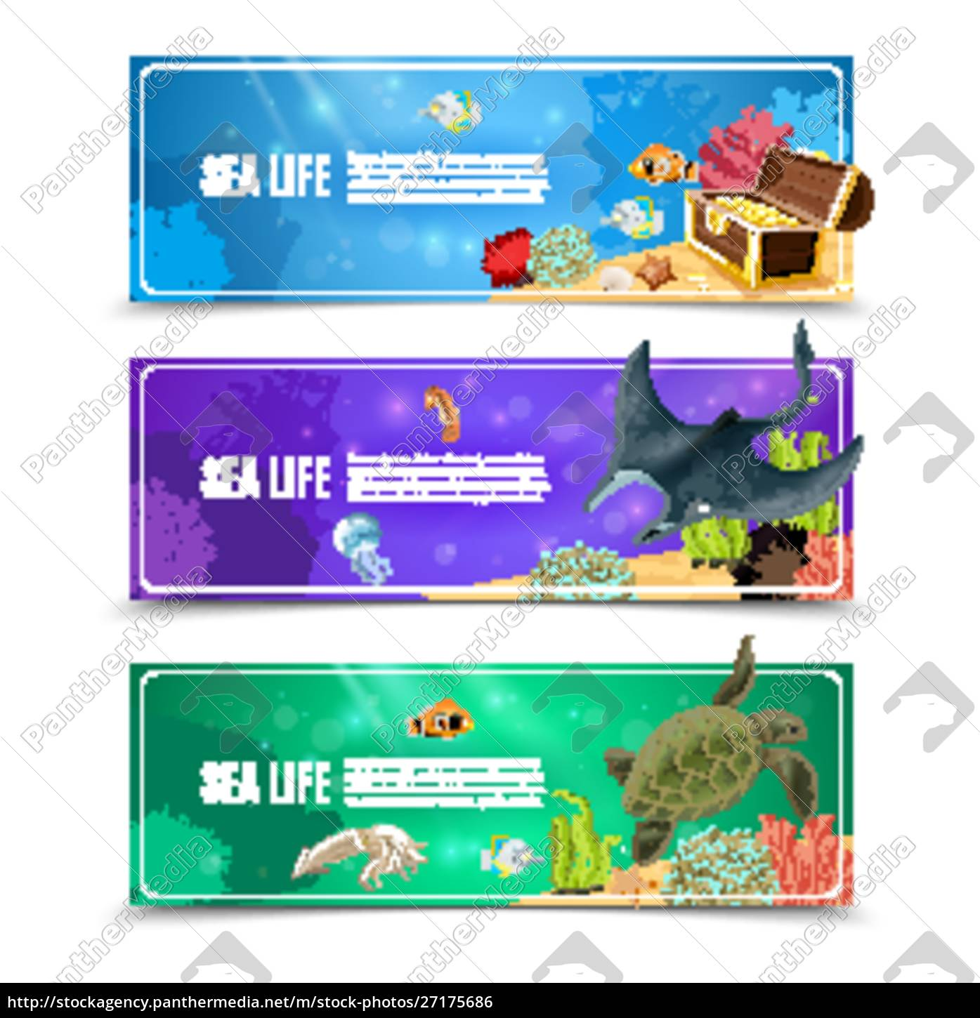 variants, of, underwater, sea, life, and - 27175686