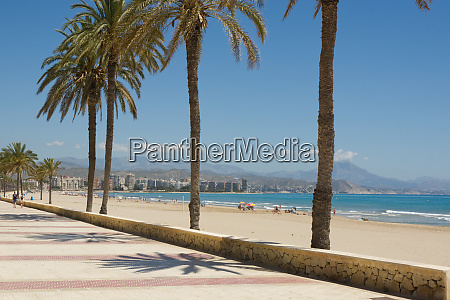 beach at saint joan costa blanca