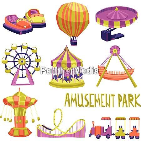 amusement park funfair carnival summer attraction