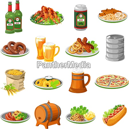 annual oktoberfest festival traditional food with