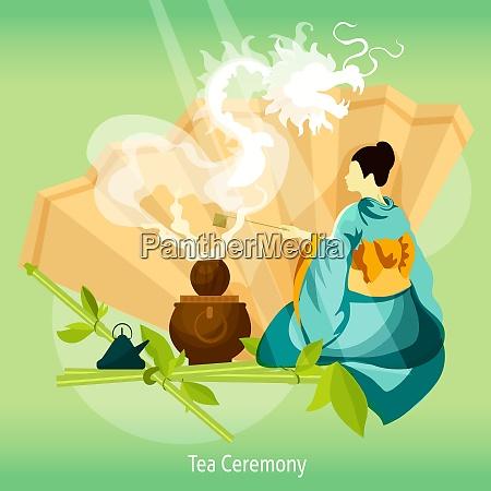 tea ceremony background tea ceremony