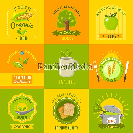 natural food from ecologically grown crops