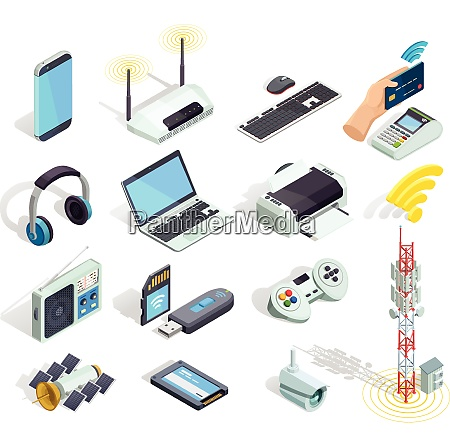 wireless connection technology electronic gadgets and
