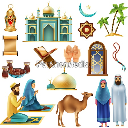 ramadan muslims holy month religious symbols