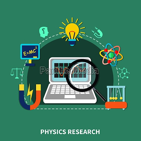 physics research design elements symbols and