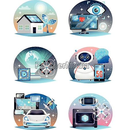 technologies of future compositions set with