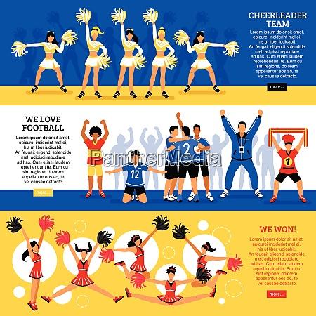 football soccer sport clubs cheerleaders and
