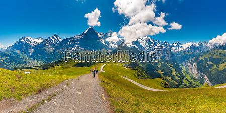 mountain mannlichen switzerland