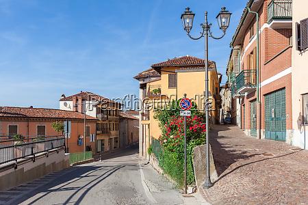 small town of la morra italy