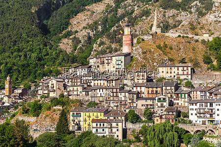 small town of tende in france