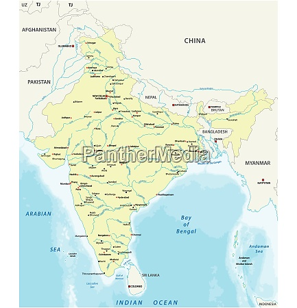map of india with the biggest