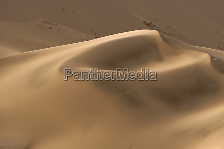 beautiful sand patterns in the dunes
