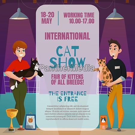 international all breeds cat show announcement