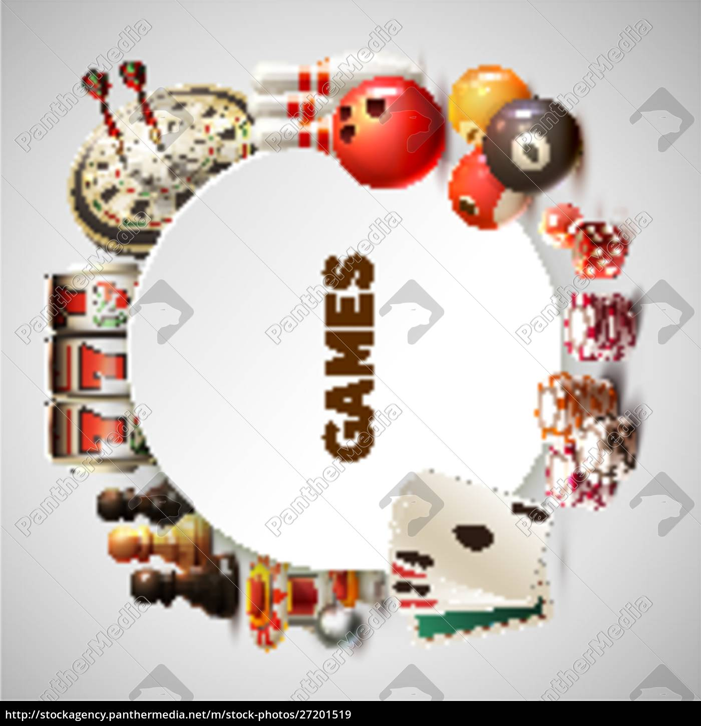 games, realistic, round, frame, with, big - 27201519