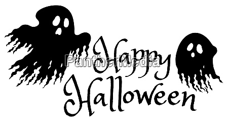 happy halloween sign concept image 1