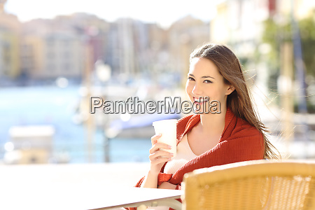 woman looking at camera in a