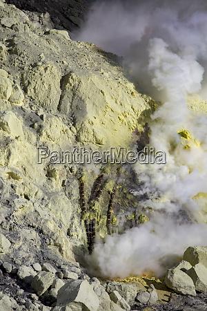 sulfur steam indonesia