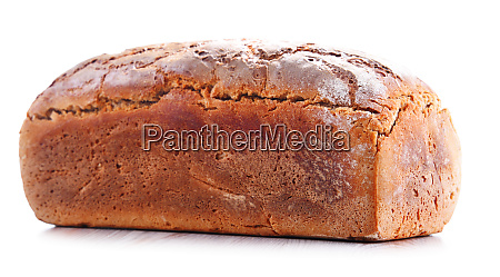 large loaf of fresh organic bread