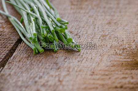 bundle of herbs specifically chives