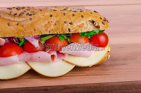 rustic baguette