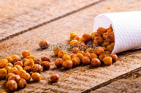 roasted chickpeas spiced
