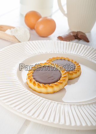 homemade chocolate biscuit