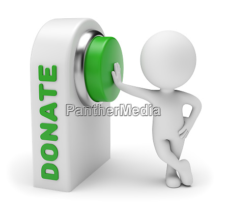 3d small people donate