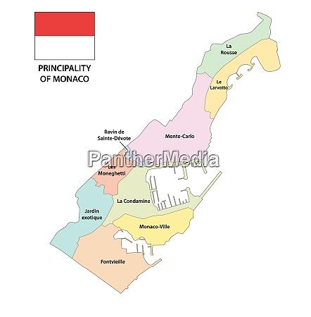 principality of monaco administrative and political