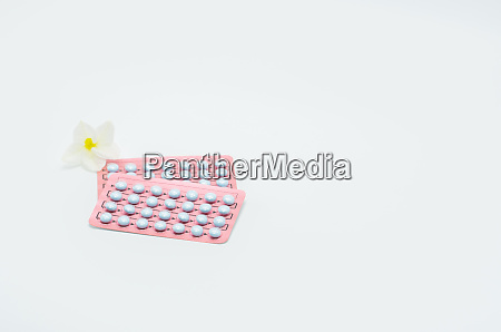 blister packaging of hormones for treatment