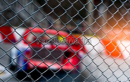 motorsport car racing on asphalt road