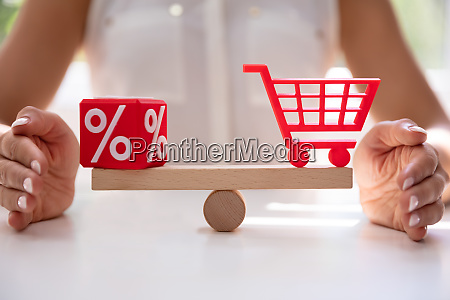 protecting balance between percentage and shopping