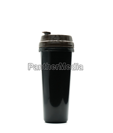 thermos bottle isolated on white background