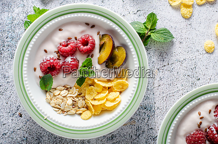easy and delicious cornflakes breakfast