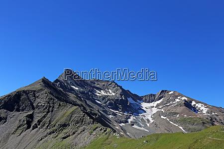 brennkogel 3018 m from the glockner