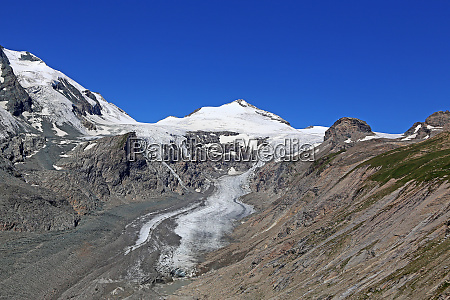 johannisberg 3460 m and glacier pasterze