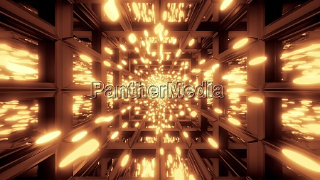 glowing golden particle background wallpaper 3d