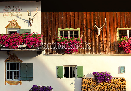a beautiful old farmhouse in the